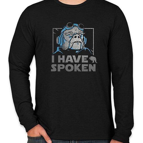 Star Wars I have Spoken Long Sleeve Long Sleeve T-Shirt
