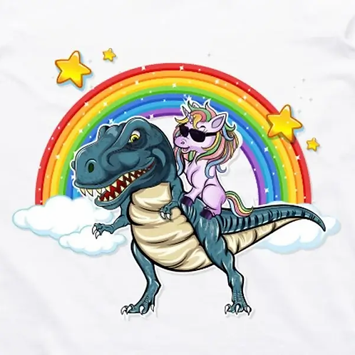 Unicorn T-Rex T-Shirt