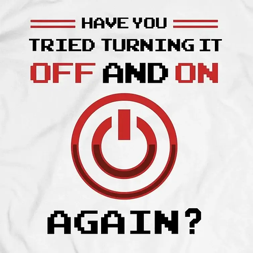 Off and On Again T-Shirt