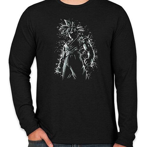 Dragonball: Goku Battle-Ready Long Sleeve T-Shirt