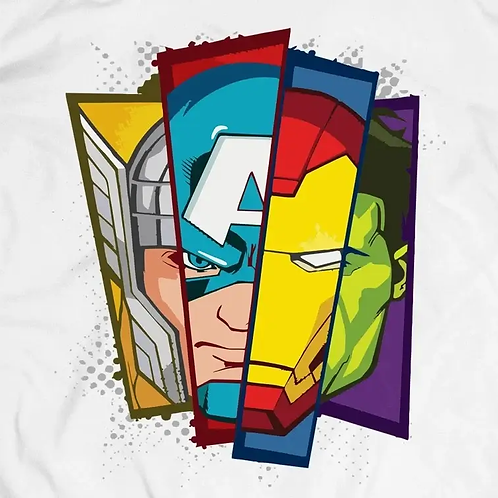 Avengers: Retro T-Shirt