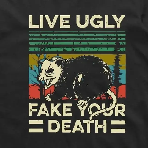 Live Ugly Short Sleeve T-Shirt