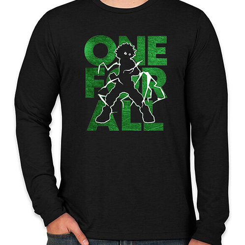 My Hero Academia: One for All Long Sleeve T-Shirt