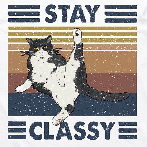 Stay Classy Short Sleeve T-Shirt