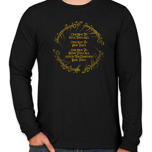 Lord of the Rings: One Ring Long Sleeve T-Shirt