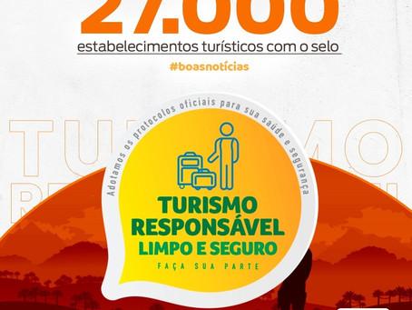 27.000 selos de Turismo Responsável