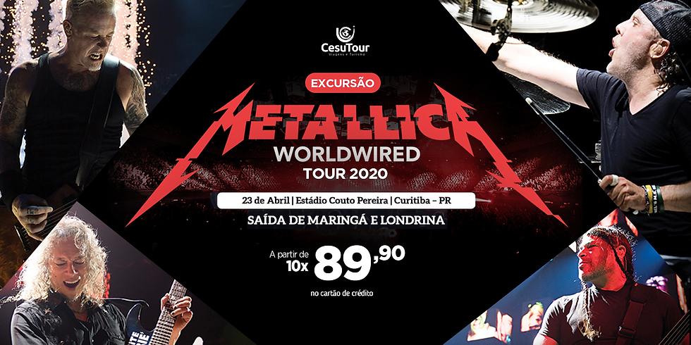 Metallica em Curitiba