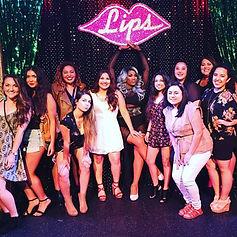 Bachelorette Drag Show Party Lips Chicago