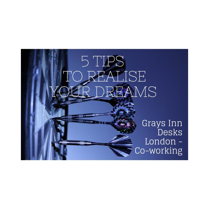co-working, dedicated desks, realising dreams