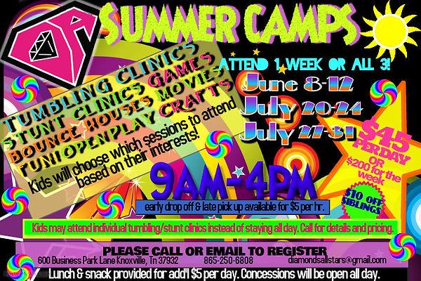 DA Summer Camps