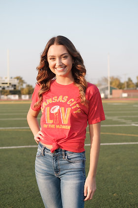 LIV in the Moment - Red T-Shirt