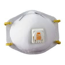 BETTER NOT TO USE: N95 with exhalation valve