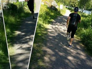 Löpcoaching - det är så skönt när rätt teknik bara driver kroppen framåt