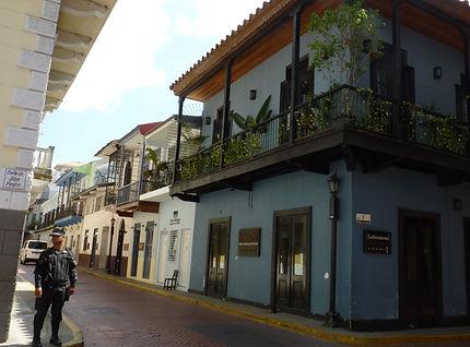 Casco Antiguo, quartier colonial à Panama city au Panama