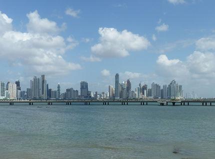 Panama city ville moderne du Panama