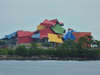 Musée de la biodiversité ou  Biomusée, Panama city au Panama