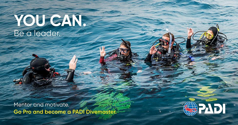 PADI Divemaster course, become a dive professional