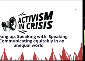Speaking up, Speaking with, Speaking to: How do we communicate equitably in an inequitable world?