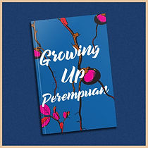 Cover art of growing up perempuan