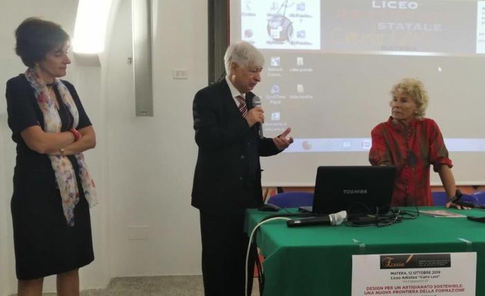 Anna M. Addabbo, Carlo Carli e Cinzia TH Torrini