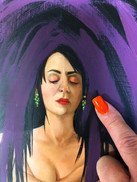 Detail of Skin De-Pressed by Cecilia Paz