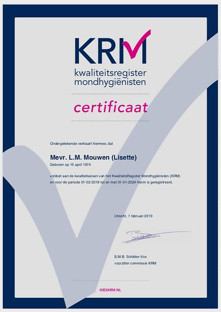 KRM certificaat Lisette Mouwen 2019.png