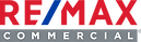 REMAX COMMERCIAL LOGO FOR REMAX TIME COMMERCIAL REAL ESTATE IN RANCHO CUCAMONGA CA SERVING THE INLAND EMPIRE AND SURROUNDING SOUTHERN CALIFORNIA MARKETS