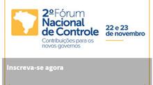 II Fórum Nacional do Controle