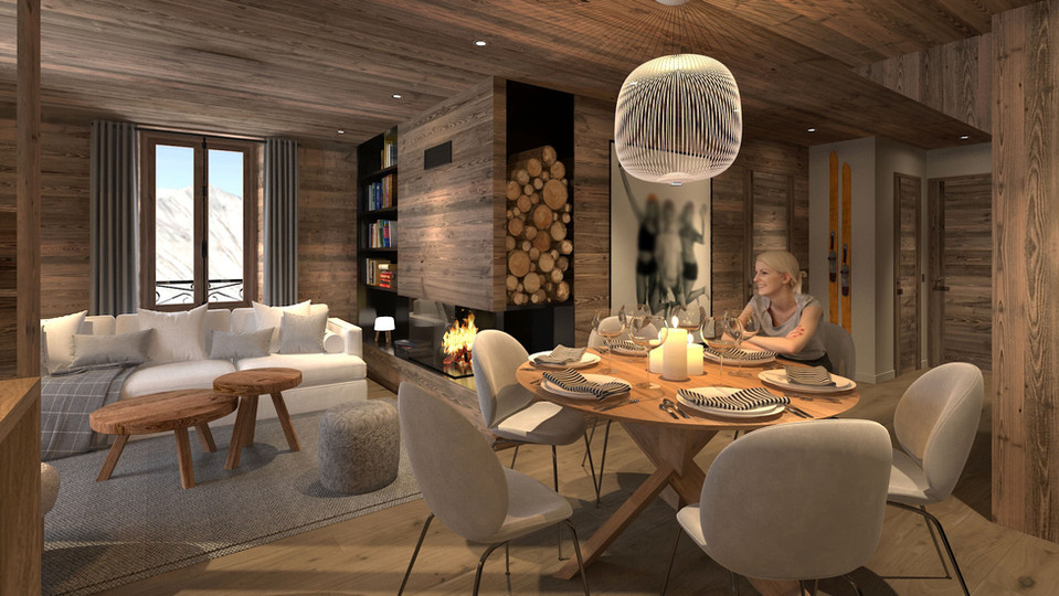 Appartement 110m² - Saint-Martin de Belleville (73)