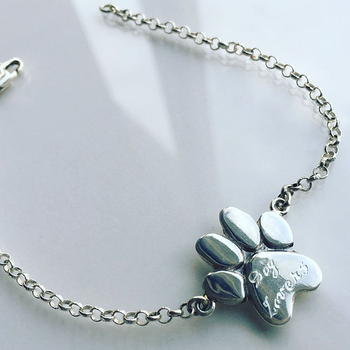 Pulsera de Plata Dog Lover