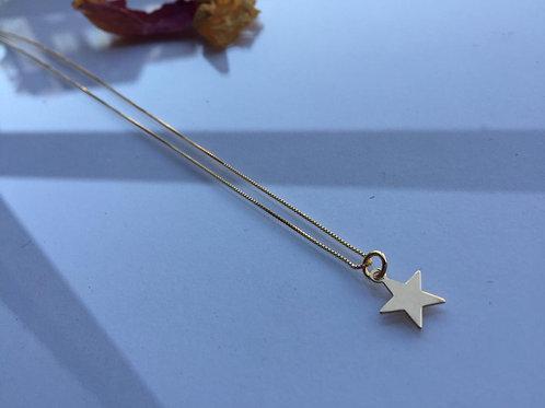 Colgante Estrella Baño de Oro para Mujer - Para Regalar