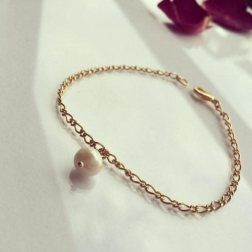 Pulsera una Perla para Mujer