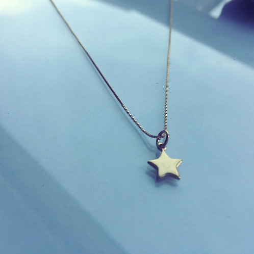 Colgante Estrella Gold Filled para Mujer