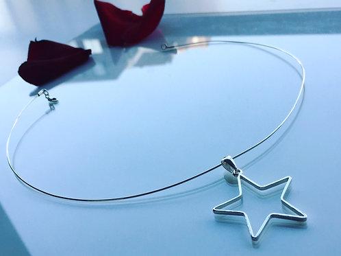 Colgante Estrella de Plata para Mujer