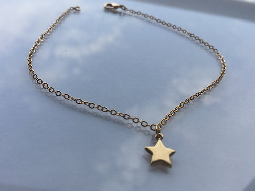 Tobillera Estrella Gold Filled - Joyas de Moda