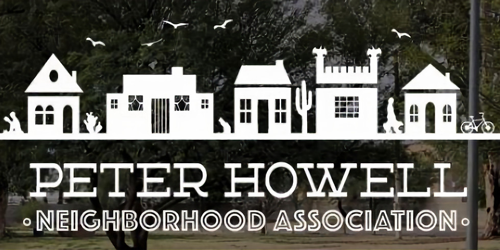 Lunch With Mr. Cookman's at Alvernon Park: Peter Howell Neighborhood Association