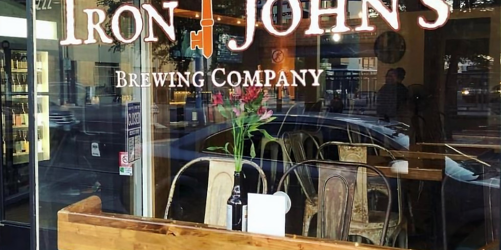 Dinner With Mr. Cookman's at Iron John's Brewing Company