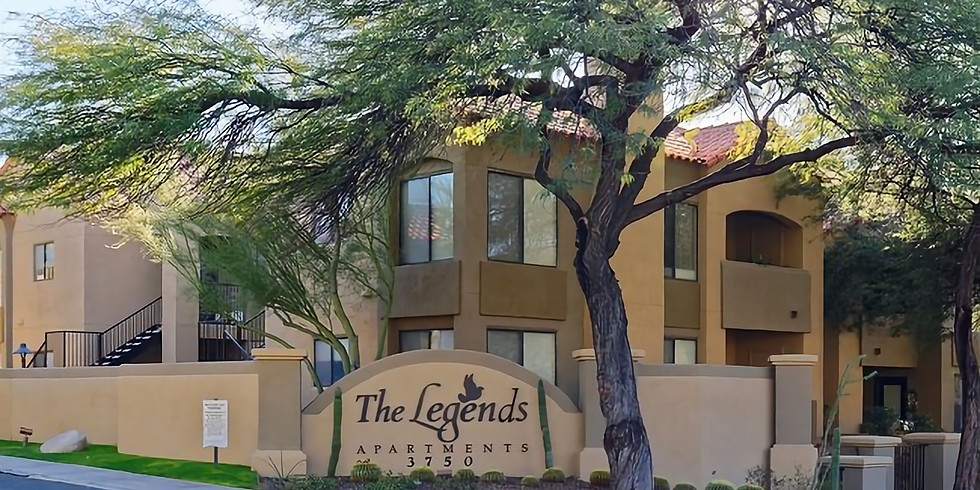 Dinner With Mr. Cookman's at Legends at La Paloma - Luxury Apartments