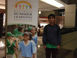 """Farooq Ansari Attends National Summer Learning Association """"Summer Changes Conference"""" in"""