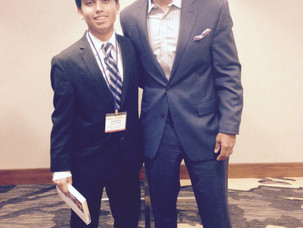 Farooq Ansari Meets NY Times Bestselling Author Wes Moore