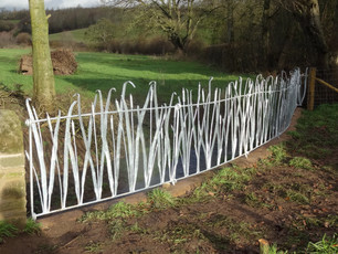 Caple Forge Reed Design Railing