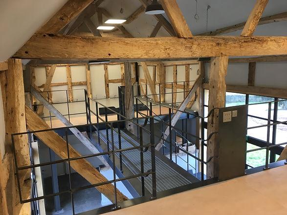 Interior Steelwork Hand Railings