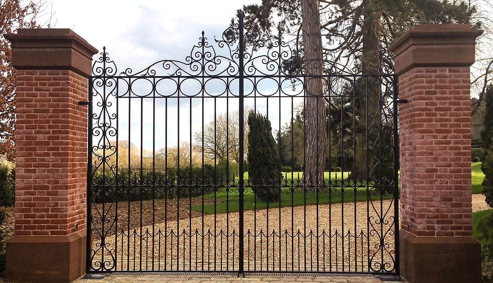 Caple Forge Bespoke Entrance Gates