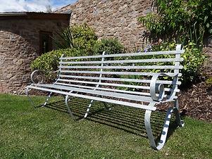 Caple Forge 2.0m (7') Galvanised Garden Seat