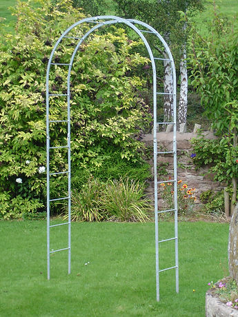 Galvanised Hereford Round Top Arch. Caple Forge