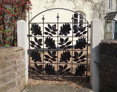 Caple Forge Decorative Bespoke Side Gate