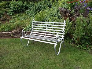 Caple Forge 1.2m (4') Galvanised Garden Seat