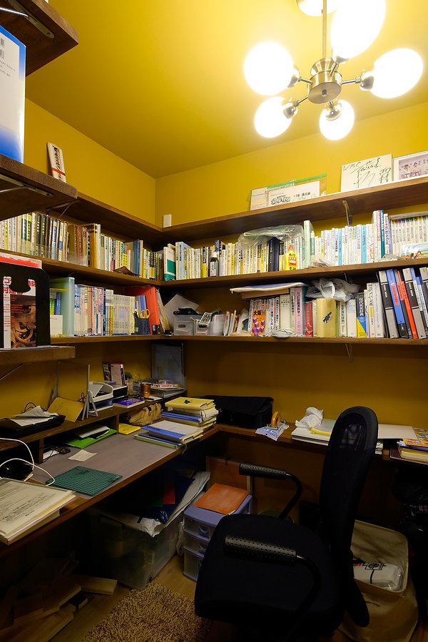 大阪市の住宅リノベーション | 大阪市 | Cooplanning | 大阪市中央区 空堀の注文住宅 1階書斎