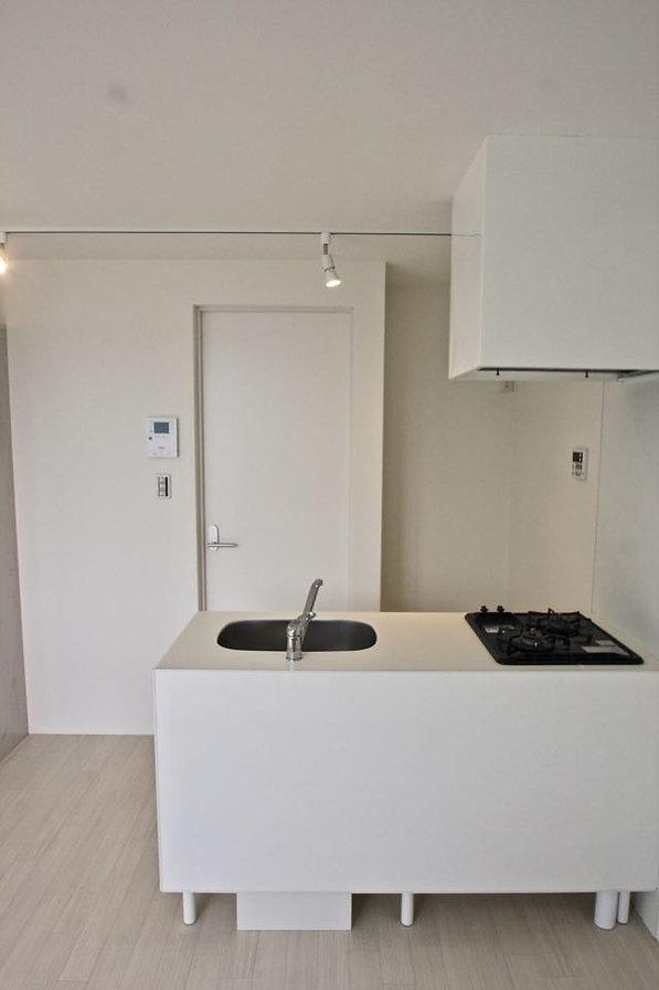 賃貸デザイナーズアパート 大阪 | 大阪 | Cooplanning | 芦屋市打出町 芦屋のアパートメント 3階住戸 ペニンシュラキッチン