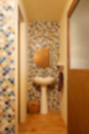 大阪市の住宅リフォーム | 大阪市 | Cooplanning | 大阪市中央区 空堀の注文住宅 1階玄関.洗面